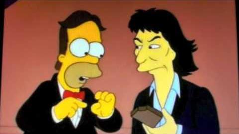 George Harrison on The Simpsons