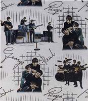 Beatles wallpaper pattern