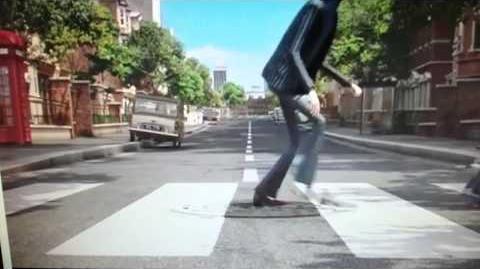 Beatles cross Abbey Road Minions