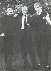 Paul with his dad and brother