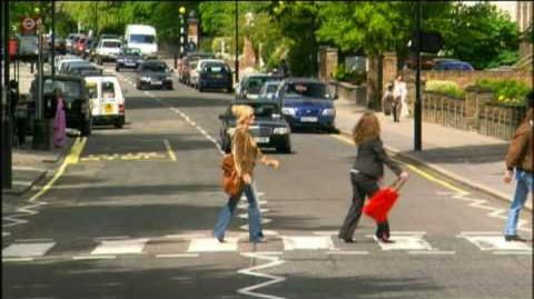 Ab Fab-Beatles Zebra Crossing