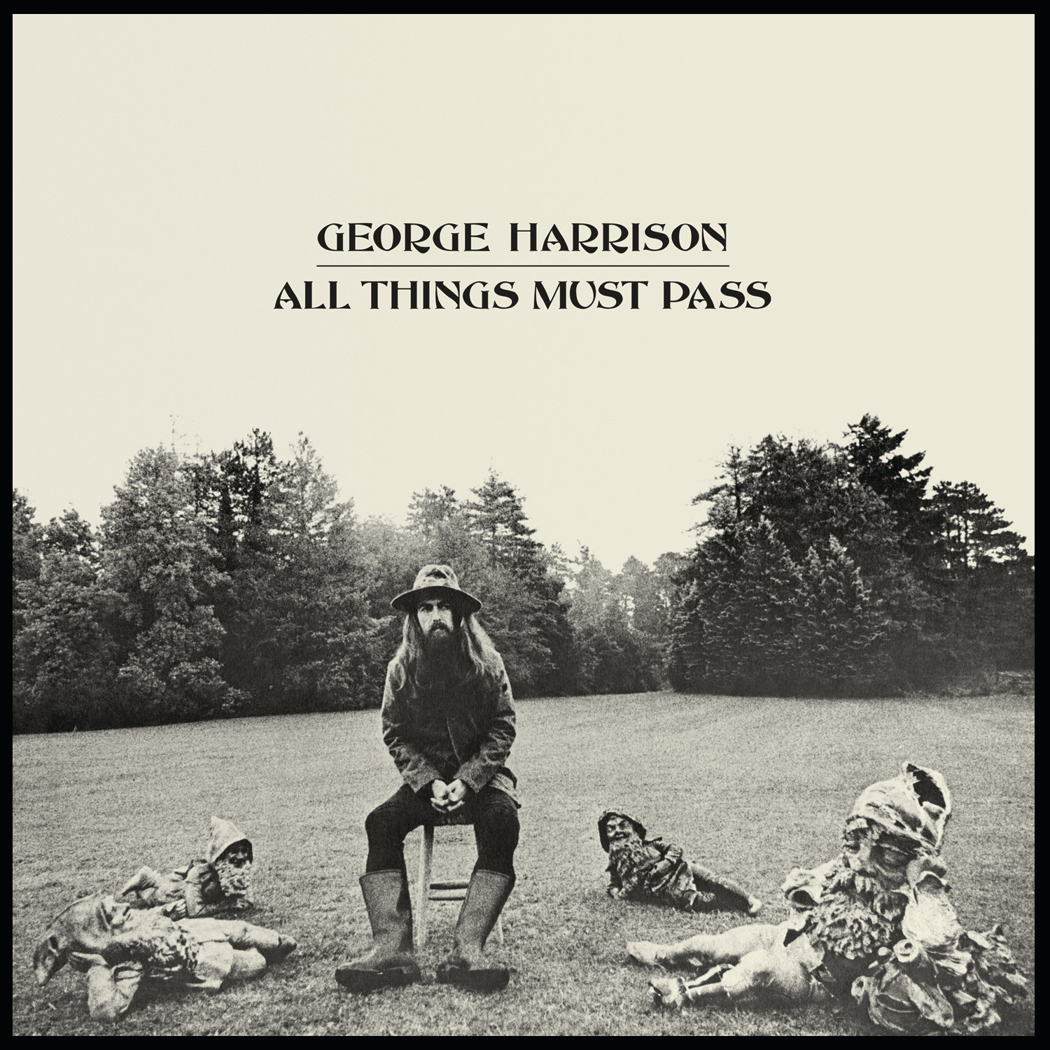 All Things Must Pass Is A Triple Album By George Harrison Recorded And Released After The Break Up Of Beatles First Solo Artiste