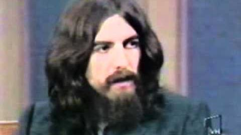 George Harrison on the Dick Cavett Show Part 1