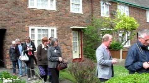 Beatle Paul McCartney's childhood house