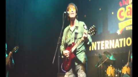 Jealous guy Gary Gibson sings john lennon
