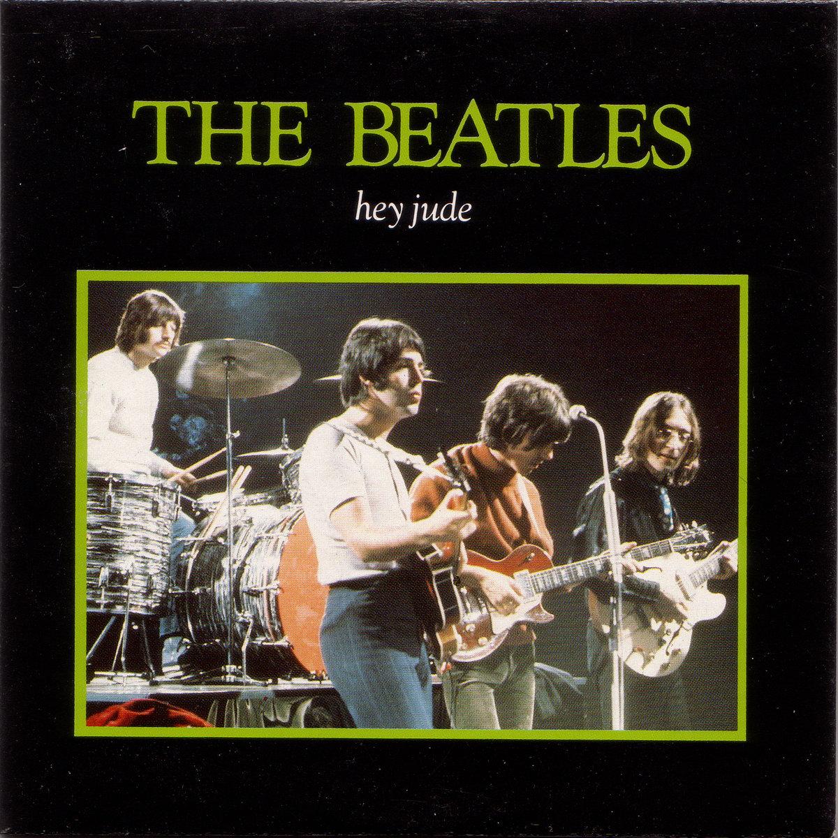 THE BEATLES - HEY JUDE ALBUM LYRICS