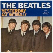 The Beatles Yesterday single