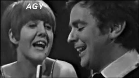 CILLA BLACK & DUDLEY MOORE - IF I FELL LIVE ON STAGE AGY