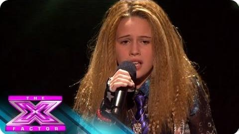 Beatrice Miller Won't Give Up - THE X FACTOR USA 2012