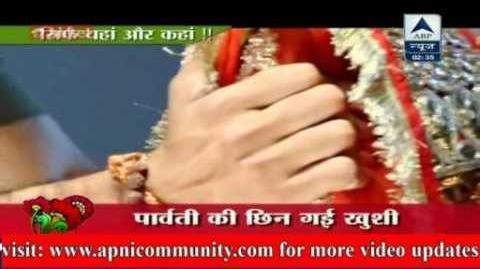 Parvati Ki Chhin Gayi Khooshi Rangrasiya 03 Jan 2014