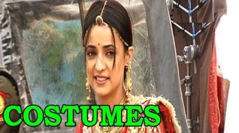 Rangrasiya - Sanaya Irani aka Paro talks about her costumes