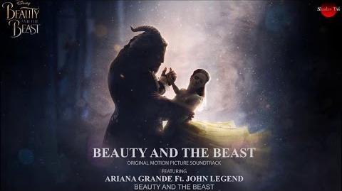 Ariana Grande Ft. John legend - Beauty and the Beast (Audio)