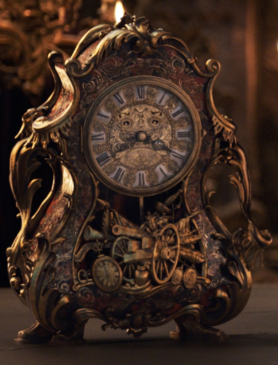 Cogsworth Real Name Revealed To Be Henry Is A Supporting Character In Beauty And The Beast He Voiced Portrayed By Ian McKellen