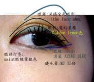 Makeup AZURE BLUE