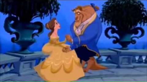 Belle and Beast goes to Disneyland-0