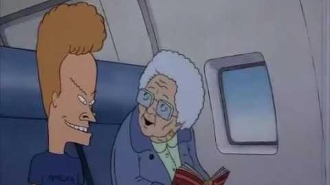 Beavis and Butthead Do America Airplane