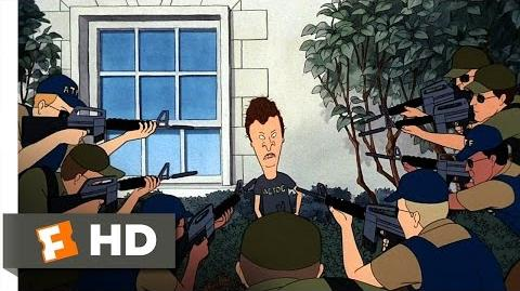 Beavis and Butt-Head Do America (2 10) Movie CLIP - At the White House (1996) HD