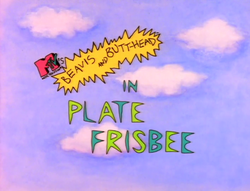 Plate Frisbee