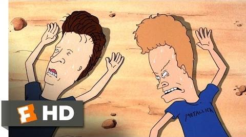 Beavis and Butt-Head Do America (4 10) Movie CLIP - Desert Flashbacks (1996) HD