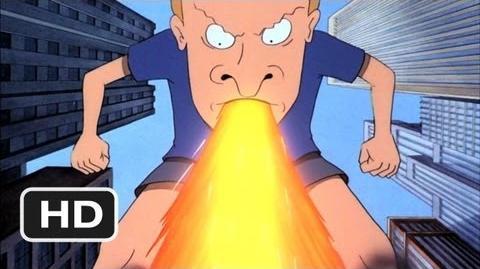 Beavis and Butt-Head Do America (8 10) Movie CLIP - Buttzilla (1996) HD