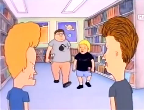 Beavis and butthead the movie porn