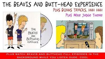 Beavis & Butthead - The Beavis and Butt-Head Experience (Complete album & full episodes) -HD-