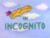 Incognito Title Card