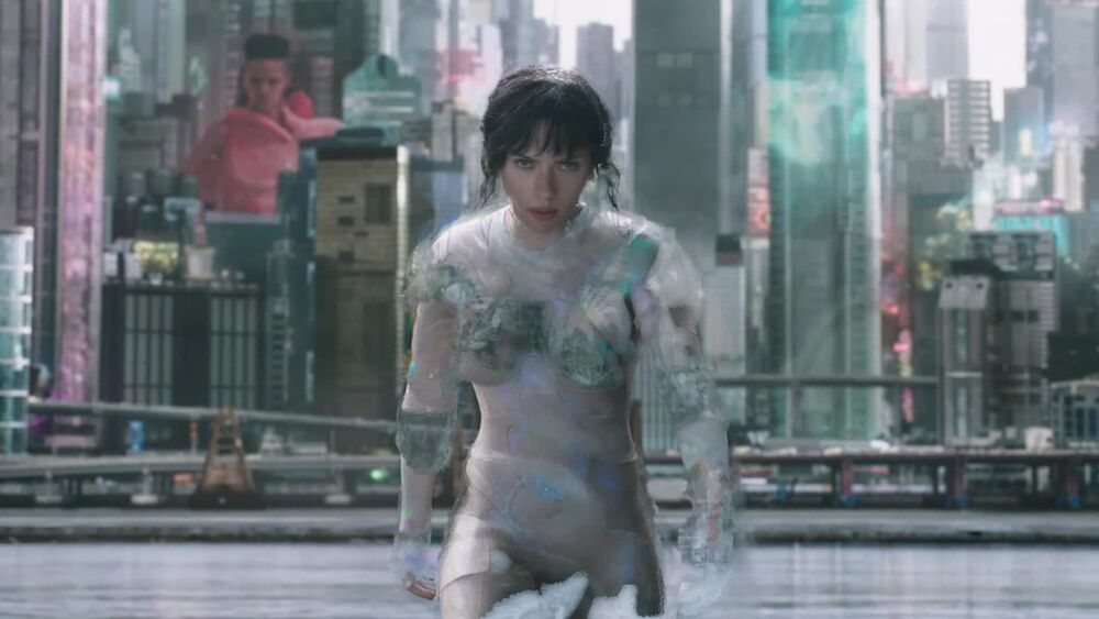 Designing Scarlett Johansson S Signature Ghost In The Shell Suit Fandom