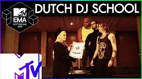 Bebe Rexha's Dutch DJ Training Sketch - 2016 MTV EMA