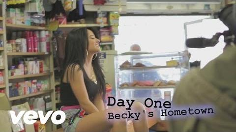 Becky G - Becky from The Block (Behind The Scenes)