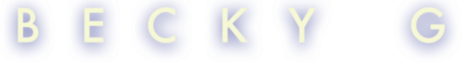 Becky G logo 2