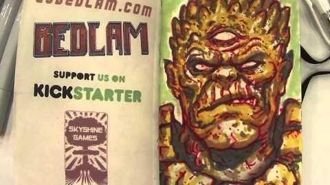 BEDLAM Mutant King Time Lapse Portrait
