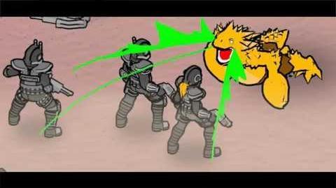 BEDLAM Mutant Barf-Monster Timelapse by Skyshine Games