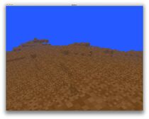 Early floating island surface