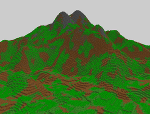 New world gen mountain