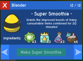 Super Smoothie Bee Swarm Simulator Test Realm Wiki Fandom