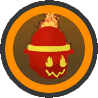 Icon Fire Mask