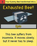 ExhaustedBeeNotification