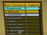 Most Commando Captures