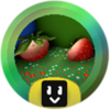 Strawberry Grandmaster Badge