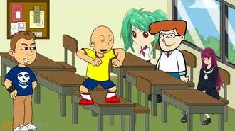"""Caillou saying """"Put me back in 12th grade"""" for 10 minutes straight-0"""