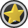 Gold Star Amulet