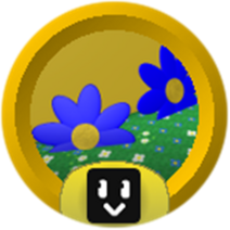 Blue Flower Ace