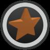Bronze Star Amulet