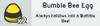 Bumble bee egg