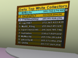 Daily Top White Collectors