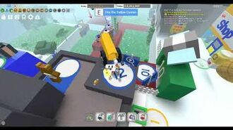 Battling Tunnel Bear in Bee Swarm Simulator ROBLOX pheanixperson