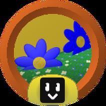 Blue Flower Cadet