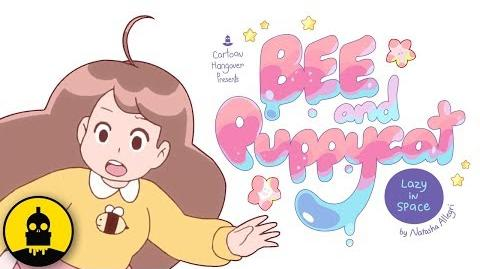 Bee and PuppyCat Lazy in Space - Official Logo & New Footage Reveal