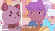 I want the hammer